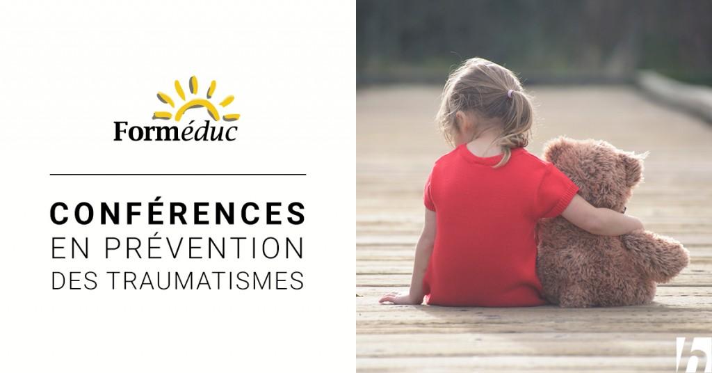Conférences en prévention des traumatismes